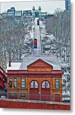 Duquesne Incline Metal Print by Mark Dottle