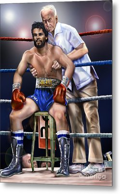 Duran Hands Of Stone 1a Metal Print by Reggie Duffie