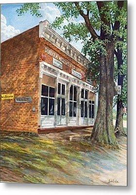 Durham Mercantile  Sold Metal Print