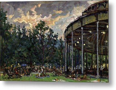 Dusk At Tanglewood Metal Print by Thor Wickstrom