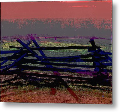 Dusk Metal Print by Gerlinde Keating - Galleria GK Keating Associates Inc
