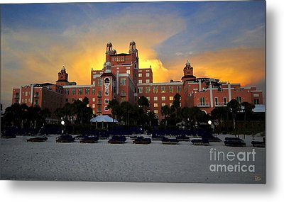 Dusk Over Don Metal Print by David Lee Thompson