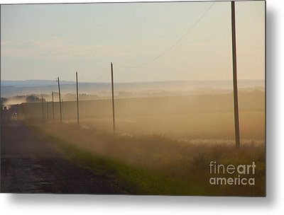 Dust Bowl Metal Print by Elaine Manley