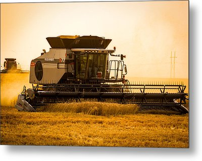 Dusty Harvest Metal Print by Jay Stockhaus