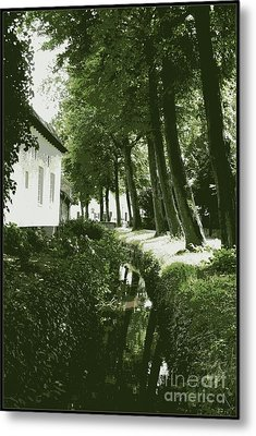 Dutch Canal - Digital Metal Print