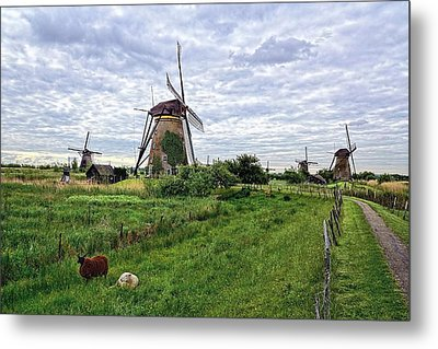Dutch Icon Metal Print by Lanis Rossi