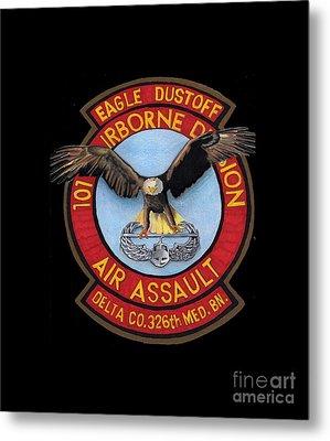 Eagle Dustoff Metal Print by Bill Richards