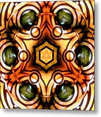 Metal Print featuring the digital art Eagle Eye Ray by Derek Gedney