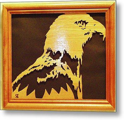 Eagle Metal Print by Russell Ellingsworth