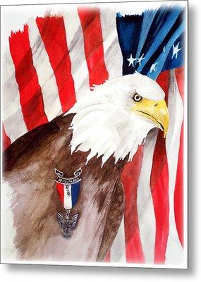 Eagle Scout Metal Print by Rosalea Greenwood