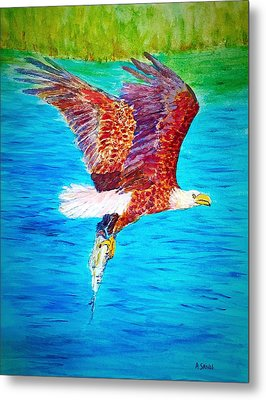 Eagle's Lunch Metal Print