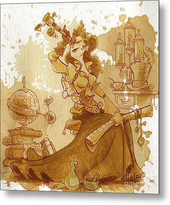 Earl Grey Metal Print by Brian Kesinger