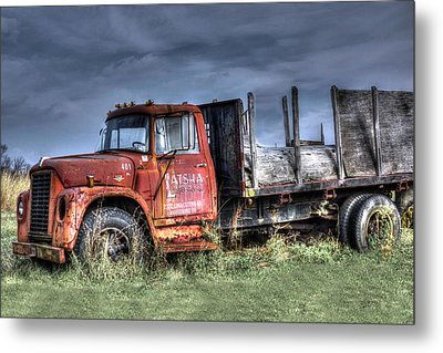Metal Print featuring the photograph Earl Latsha Lumber Company Version 2  by Shelley Neff
