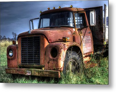 Metal Print featuring the photograph Earl Latsha Lumber Company Version 3 by Shelley Neff
