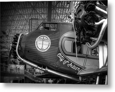 Early Commercial Passenger Aircraft C. 1930 Metal Print by Daniel Hagerman