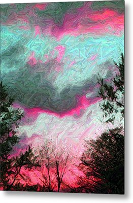 Metal Print featuring the photograph Early Evening by Susan Carella