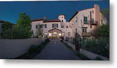 Early Morning At La Posada Metal Print