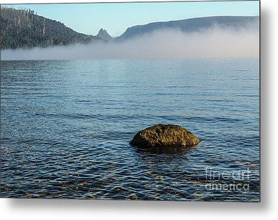Metal Print featuring the photograph Early Morning At Lake St Clair by Werner Padarin