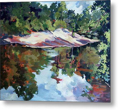 Early Morning Creekside Alabama Metal Print