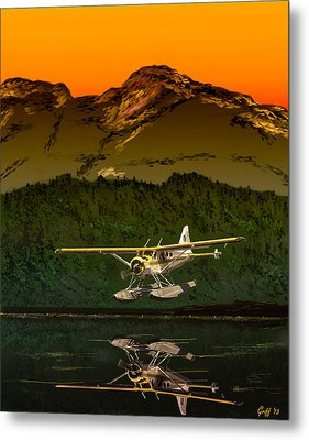 Early Morning Glass Metal Print by J Griff Griffin