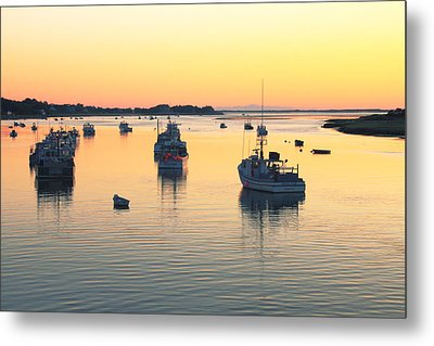 Metal Print featuring the photograph Early Morning In Chatham Harbor by Roupen  Baker