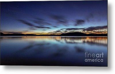 Early Morning On Lake Lanier Metal Print by Bernd Laeschke