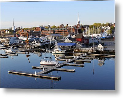 Early Morning On The Merrimack River Metal Print