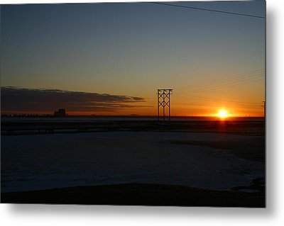 Early Morning Sunrise Metal Print by Anthony Jones