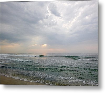 Early Morning Thunderstorm Metal Print