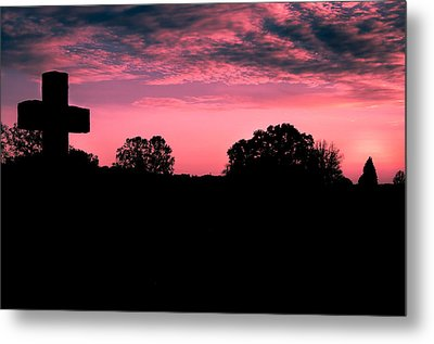 Early On The Hill Metal Print