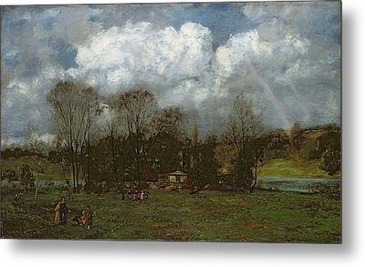 Early Spring Metal Print by Hans Thoma
