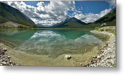 Metal Print featuring the photograph Early Summer Day On Goat Pond by Sebastien Coursol