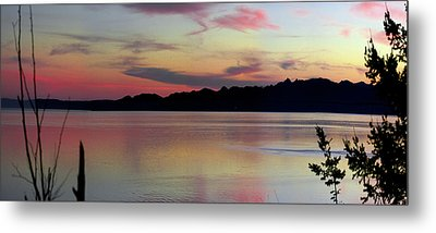 Early Whidbey Island Sunset  Metal Print by Mary Gaines