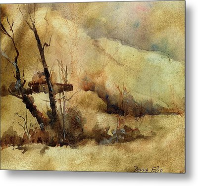Early Winter Metal Print by Donna Elio