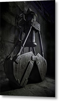 Earth Mover Metal Print
