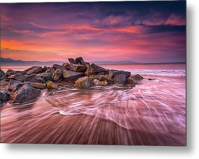 Metal Print featuring the photograph Earth, Water And Sky by Edward Kreis