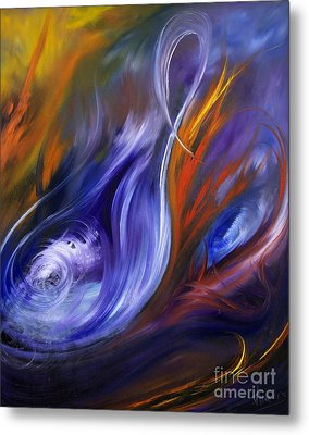 Earth, Wind And Fire Metal Print by Valerie Travers