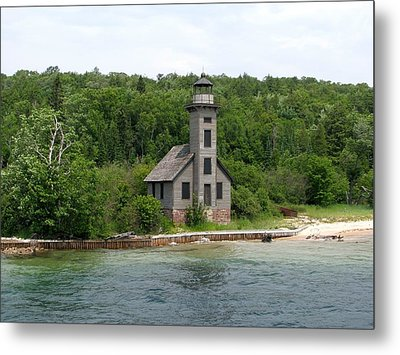 East Channel Lighthouse Metal Print by Keith Stokes