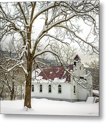 East Chapel Church Metal Print