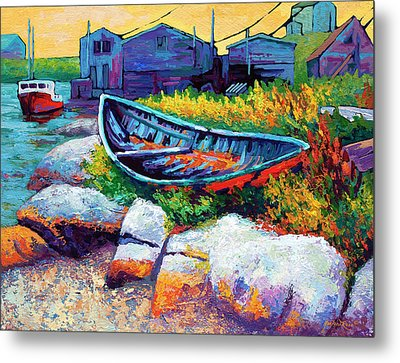 East Coast Boat Metal Print