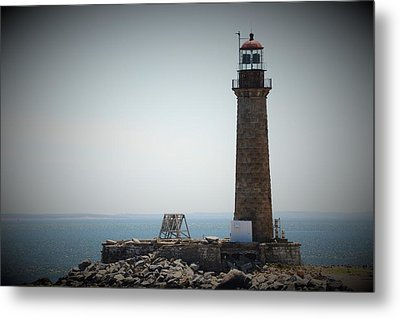 East Coast Lighthouse Metal Print