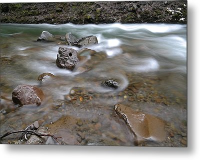 East Fork Of The Hood River Metal Print by Jeff Swan