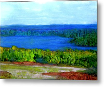 East Grand Lake Maine Metal Print