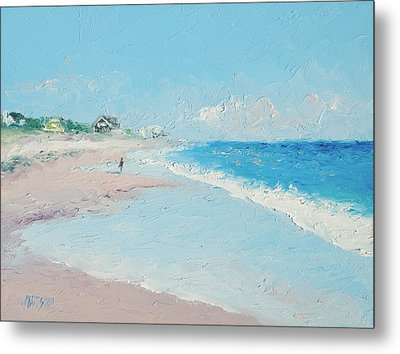 East Hampton Beach Metal Print