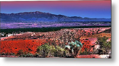 East Of Albuquerque Metal Print by David Patterson