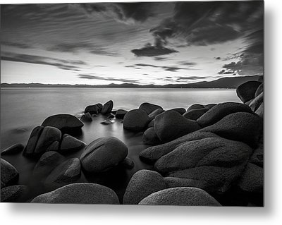 Metal Print featuring the photograph East Shore Serenity - Lake Tahoe by Brad Scott