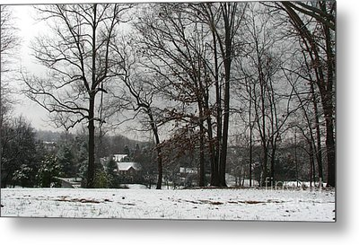 East Tennessee Winter Metal Print by Todd A Blanchard