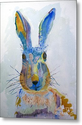 Easter Bunny Metal Print by Sandy McIntire