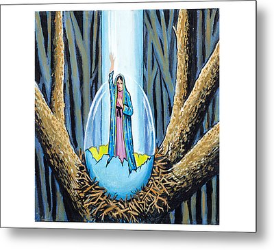 Easter Emergence Metal Print by James Roderick