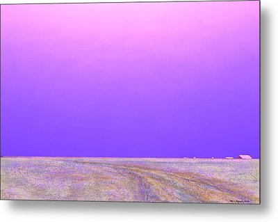 Metal Print featuring the digital art Eastern Horizon by Kerry Beverly